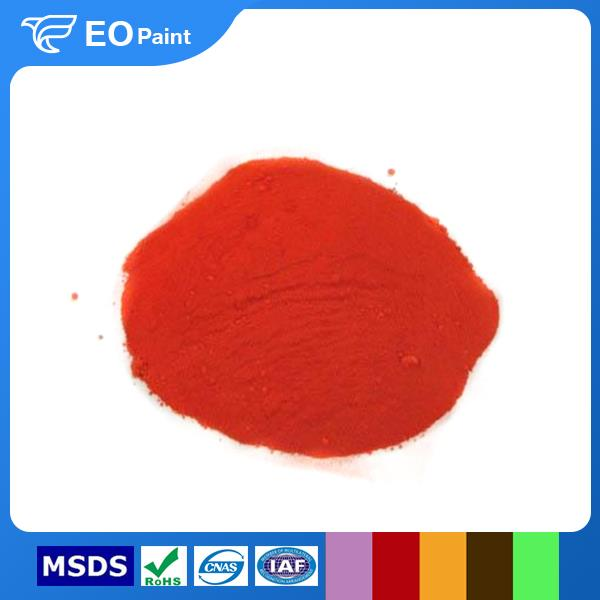 High Temperature Molybdate Red Pigment