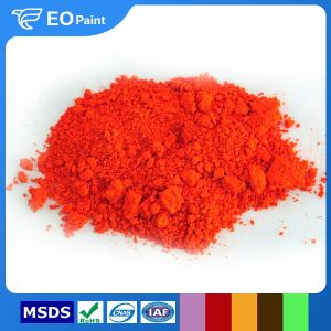Fluorescent Orange Red Pigment