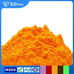 Fluorescent Orange Yellow Pigment